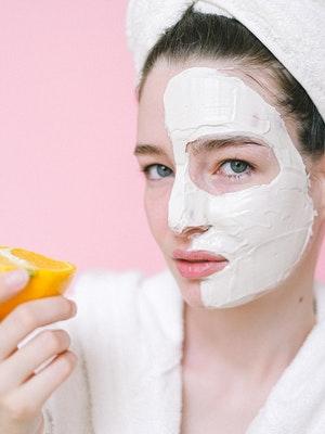 Benefits of Orange Face Mask