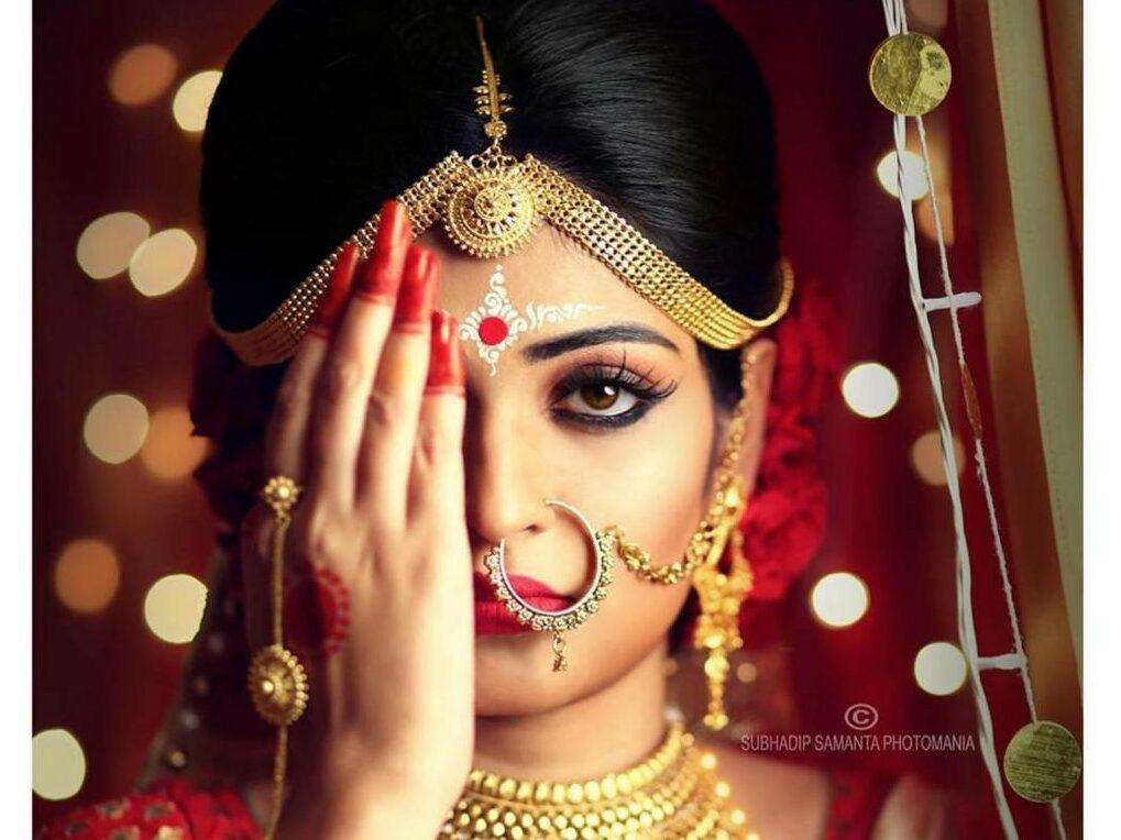 Bengali Indian Bridal Makeup