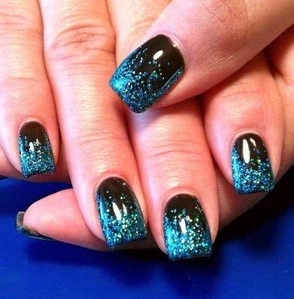 Glittery Nail Art for Beginners