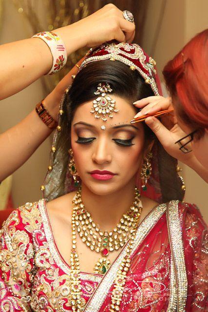 Steps of Indian Bridal Makeup