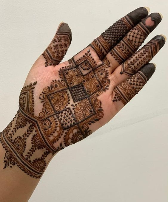 Dimand Mehndi designs khafif