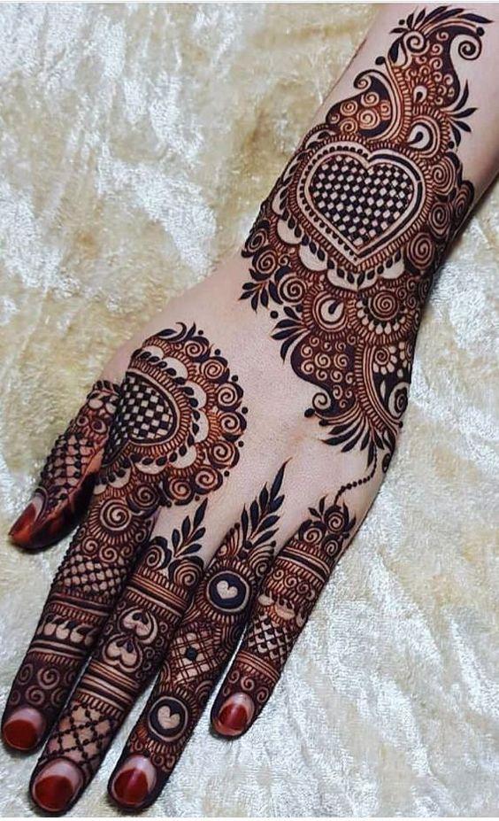 Floral Khafif Designs For Backhand