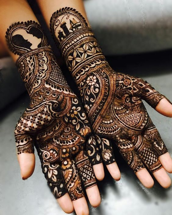 Mehndi Design Arabic for Weddings