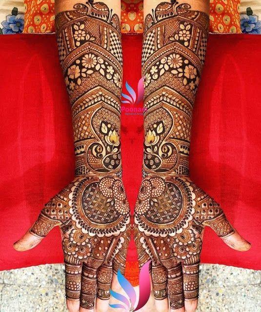 Mehndi designs full hand