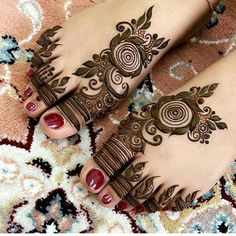 Mehndi designs for marriage girl
