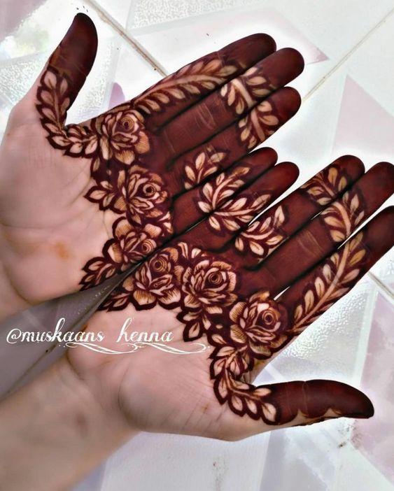 Simple mehndi designs to look stylish