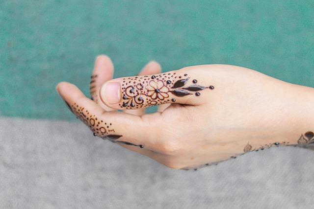 finger mehndi designs 2020 new style