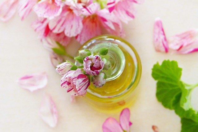 Natural skin care routine
