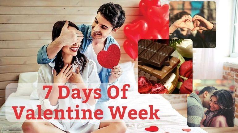 7 days of valentine week 2021