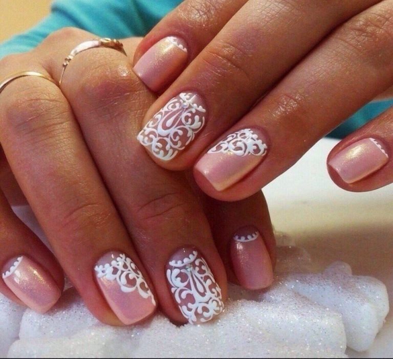 Nail Art Delicate Lace Stamping