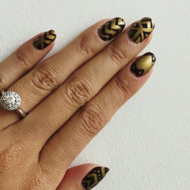 Sharpies Nail Art Designs