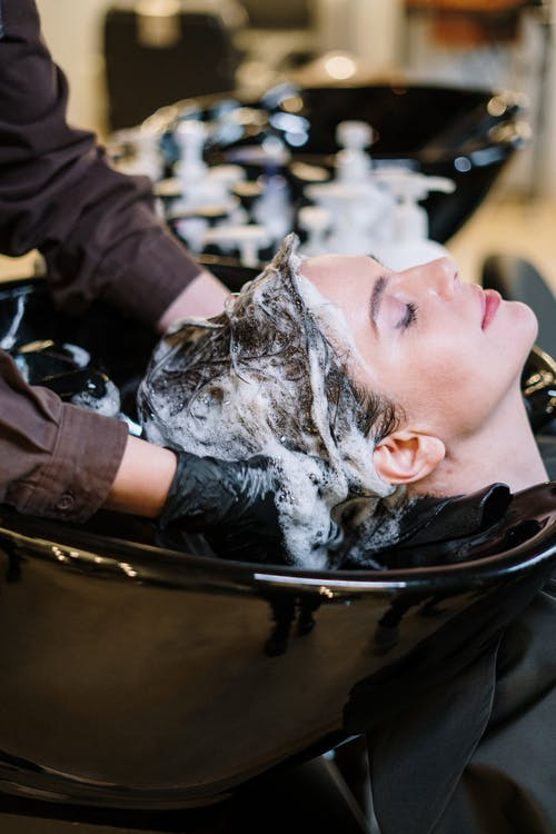 Wash your hair carefully