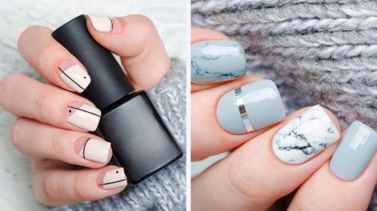 Short Squoval Nails