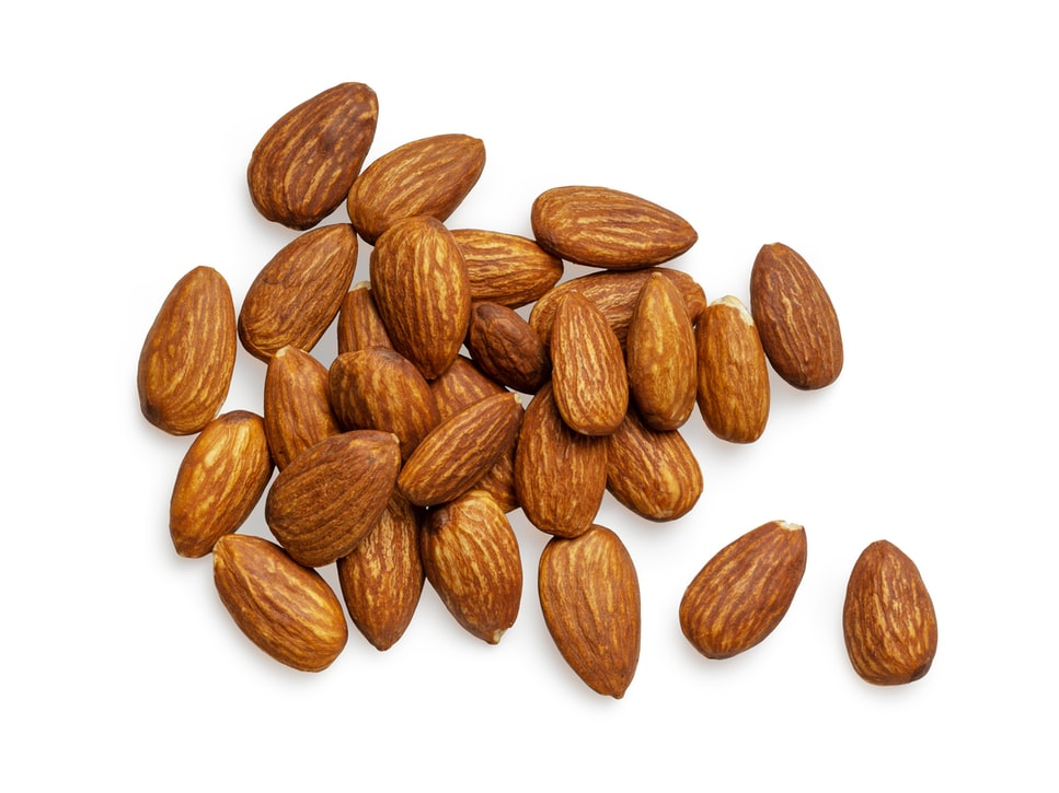 Eat almonds to get rid of fat