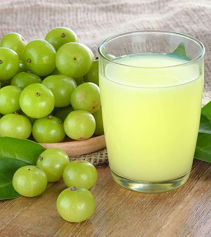 Amla and Lime Juice