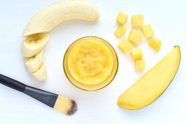 Banana facial masks