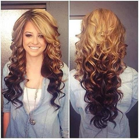 Laser Cut Hairstyle For Long Hair