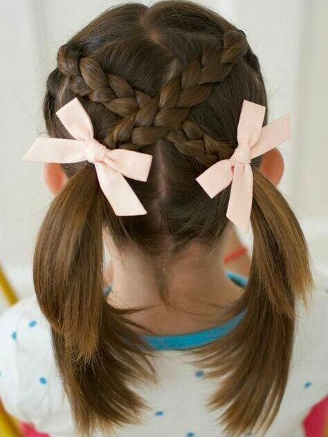 Fun making hairstyle