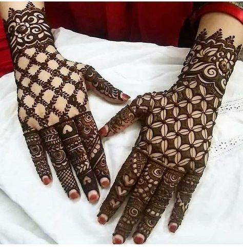 Net Style Khafif Mehendi
